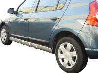Dynamik Style prahové nástavce (ABS plast) Dacia Sandero -- od roku výroby 2008-
