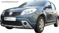 Dynamik Style přední difusory boční díly na mlhovky (ABS plast) Dacia Sandero -- od roku výroby 2008-
